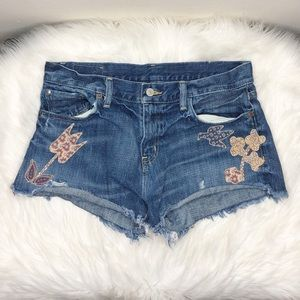 Denim & Supply Ralph Lauren Raw Hem Jean Shorts 29